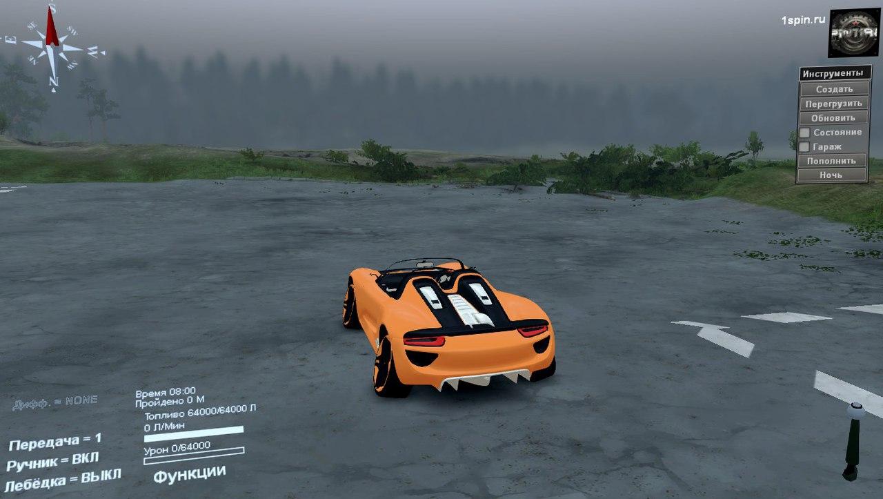 Porsche Carrera для SpinTires 03.03.16 для Spintires - Скриншот 3