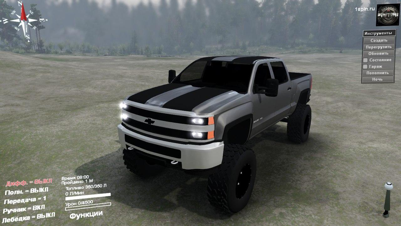 Chevy 3500HD для 03.03.16 для Spintires - Скриншот 1