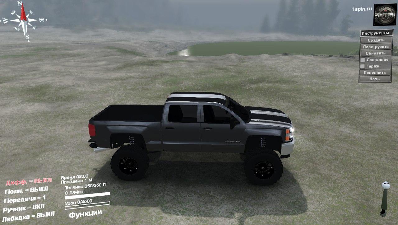 Chevy 3500HD для 03.03.16 для Spintires - Скриншот 2