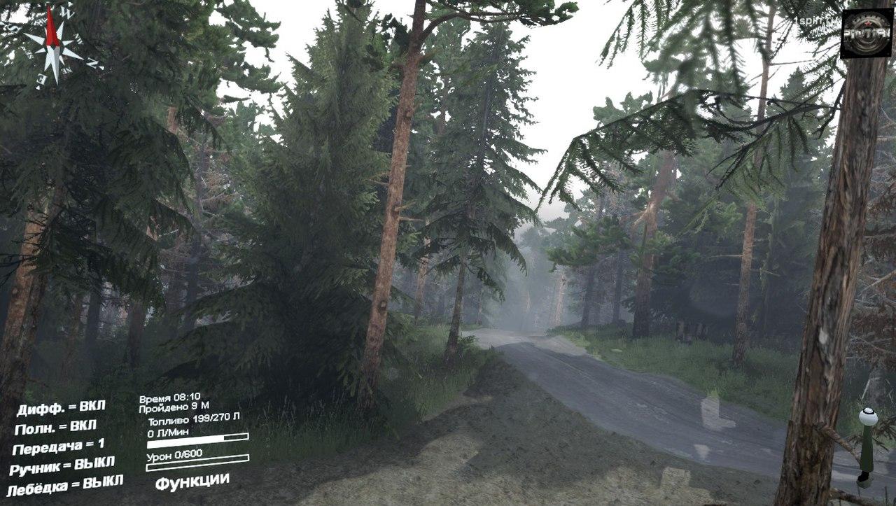 Карта «Chicken Springs» для 03.03.16 для Spintires - Скриншот 1