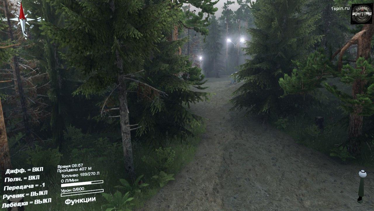 Карта «Chicken Springs» для 03.03.16 для Spintires - Скриншот 3