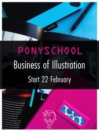 PONYSCHOOL для начинающих и великих иллюстратов