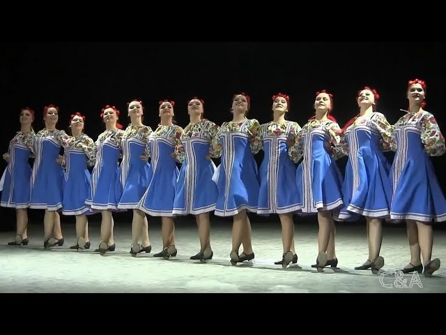 00119 Bindweed dance Вьюнок Народный танец Роза Ветров