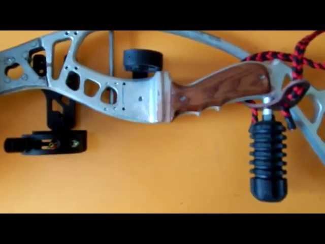 Самодельный блочный лук (часть пятая), апгрейд/Upgrade of homemade compound bow