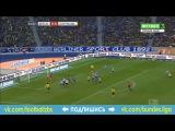 Герта 0:0 Боруссия Д | Немецкая Бундеслига 2015/16 | 20-й тур | Обзор матча