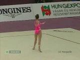 Alina Kabaeva RUS hoop EC Budapest 1999 AA final