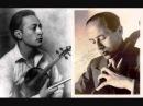 J. Heifetz E. Feuermann Double Concerto Brahms (1. Mov.)