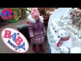 ✔ Беби Борн и Ярослава. Прогулка по магазину – Новогодняя сказка / Doll Baby Born Christmas story ✔