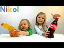 Кока-Кола и Фанта из съедобного желе . Фокусы с Кока Кола Coca-Cola and Fanta from edible jelly