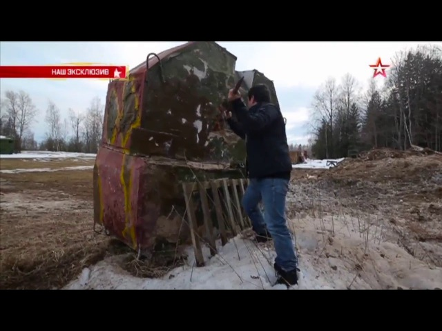 РПГ-28 «Клюква» прошивает насквозь бетонную стену: эксклюзивные кадры