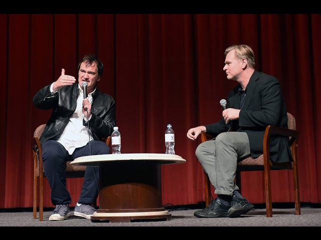 The Hateful Eight DGA QA with Quentin Tarantino and Christopher Nolan