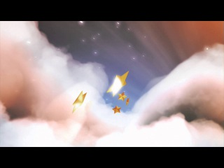Футаж для видеомонтажа: начало фильма (Звезды)