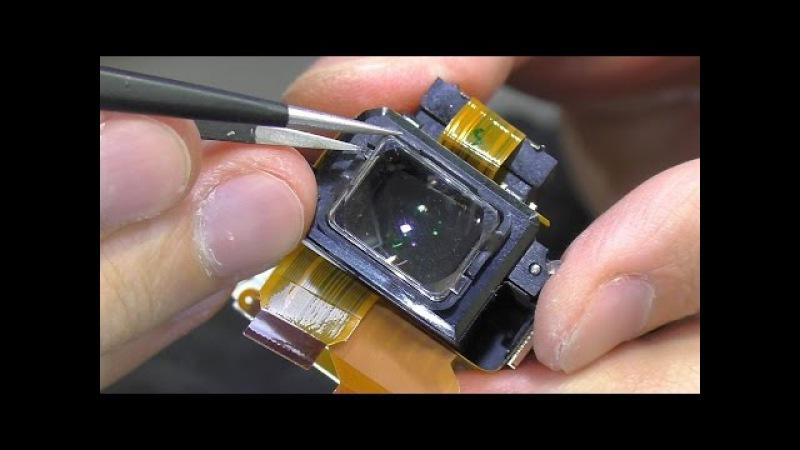 Мутное изображение в видоискателе. Зеркальная фотокамера Nikon D3100