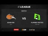 FlipSid3 vs Echo Fox, map 2 train, ELEAGUE Season 1
