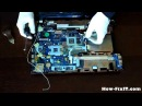 Acer Aspire V3-571G (E1-531G) disassembly, fan cleaning and asassembly process