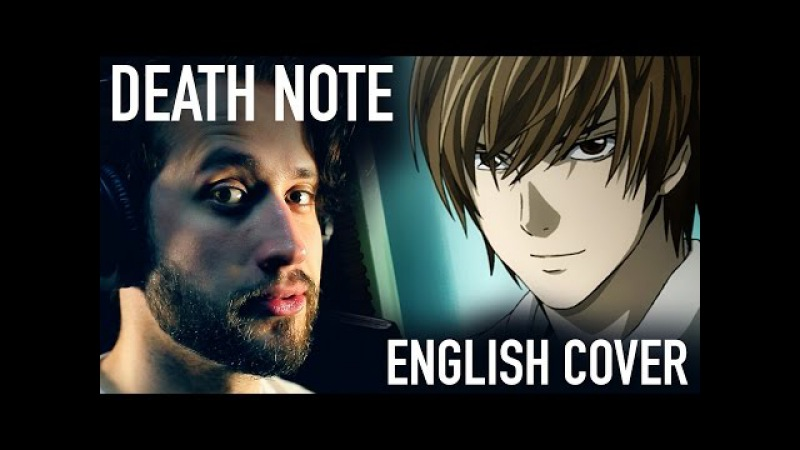 Death Note Opening 1 (the World) FULL ENGLISH COVER by Jonathan Young
