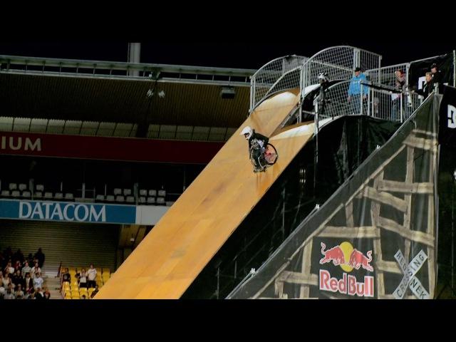 "World's First Wheelchair Frontflip – Aaron ""Wheelz"" Fotheringham"
