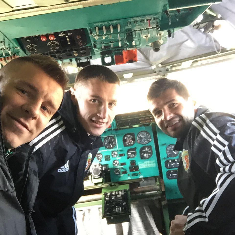 Футболисты Ворсклы посетили музей дальней авиации - изображение 8