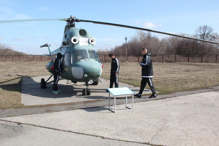 Футболисты Ворсклы посетили музей дальней авиации - изображение 4