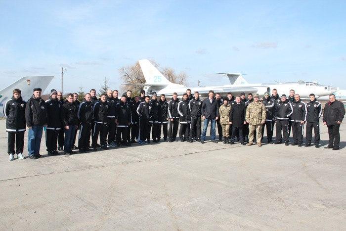Футболисты Ворсклы посетили музей дальней авиации - изображение 6