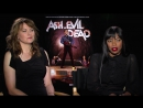 Lucy Lawless and Jill Marie Jones Interview Ash vs Evil Dead HD 2015 Horror