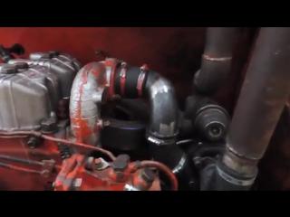 Двигатель Д21 с турбиной ККК-14 на тракторе Т-16