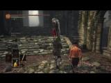 Шрек, Осел и Кот в сапогах защищают болото в Dark Souls 3