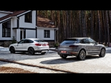 Porsche Macan vs BMW X4 — комментарий к тест-драйву