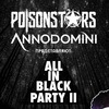 ALL IN BLACK PARTY II POISONSTARS @PEPPER