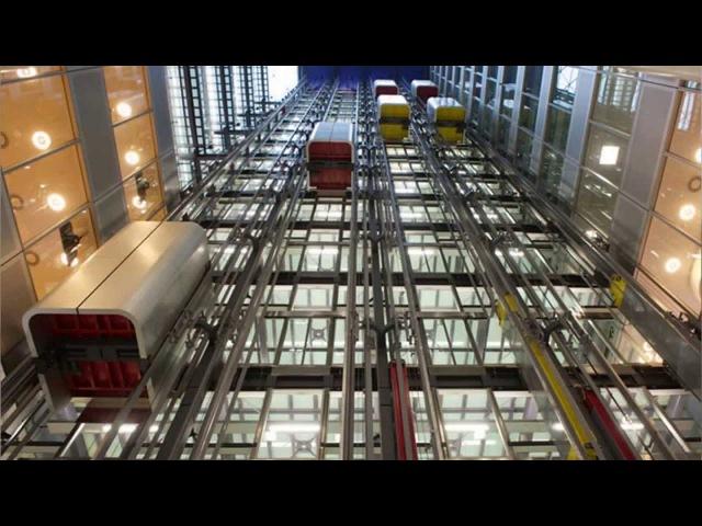 Лахта центр Какие типы лифтов будут использоваться в здании