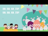 Ten Bunnies Counting Song 1-10 Easter Song Lyrics Easter Bunny Kids Song