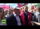 Шествие КПРФ, посвященное Дню международной солидарности трудящихся