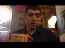 Аркадий Кобяков после концерта с друзьями А капелльно