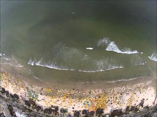 01-01-2014 - Praia Enseada - Guarujá-SP - Brasil - 2 filmagem