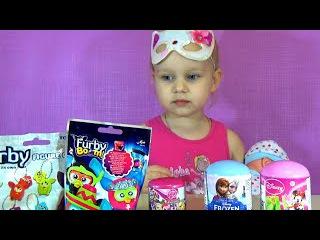 Сюрпризы игрушки для детей Ферби Холодное Сердце Май Литл Пони Furby Frozen My Little Pony