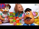 ✔ Doll Alive с Ярославой делают из Плей До героев мультфильма История игрушек / Play Doh Toy Story ✔