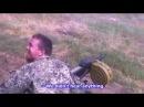Моторола обстреливает своих боевиков из гранатомета