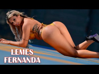 Fernanda Lemes - Sexy Brazilian Butt Model Fitness Workout Routine