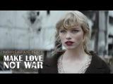 AXE PEACE  MAKE LOVE, NOT WAR.