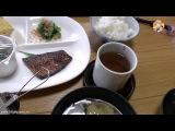 Завтрак в Отеле в Японии. Японская Кухня в Рёкане