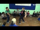 Матвей vs Настя (1-й батл по брэйку и хип-хопу КлоДэ)