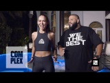 DJ Khaled Teaches Us the Keys to a Perfect Workout on Get Sweaty With Emily Oberg