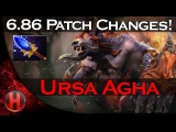 6.86 Patch Changes Dota 2 - Ursa Aghanim's Scepter Update!