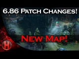 6.86 Patch Changes Dota 2 - New Map!