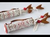 How to Make a Cookie Quiver and Arrows for Valentine's Day