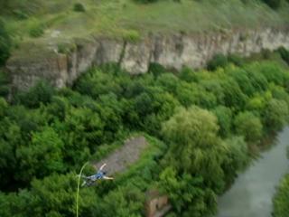 Сергей (прыжок с Бегущей лани)