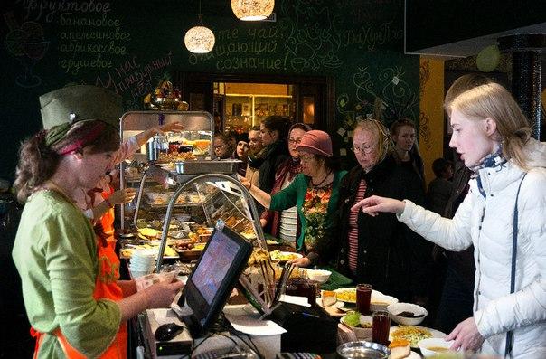 Обед для Победителей, кафе Говинда Омск, благотворительность на GovindasClub