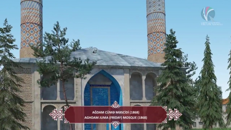 Aghdam - virtual visit - Ağdam - virtual səyahət