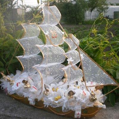 Корабль на свадьбу своими руками мастер 62