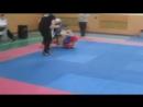 Рома Полін, 1 раунд Фінальний бій Чемпіоната Рівненської області з ММА 05.12.2015 р.